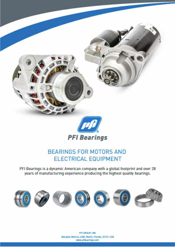 Cover Electrical Bearings